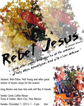 rebel jesus poster